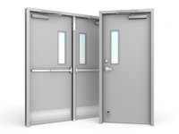 Hollow metal doors and frames