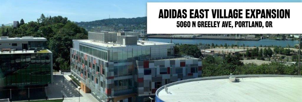 Adidas East Village Expansion. 5055 N Greeley Ave, Portland, OR 97217.