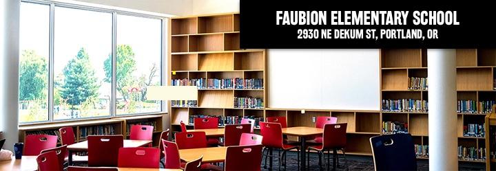 Faubion Elementary School, 2930 Northeast Dekum Street, Portland, Oregon