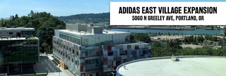 Adidas East Village Expansion, 5060 North Greeley Avenue, Portland, Oregon